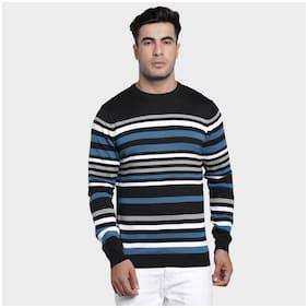 Men Cotton Blend Full Sleeves Sweater