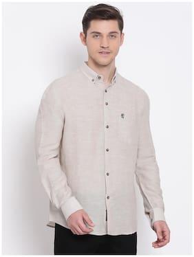 Men Regular Fit Solid Casual Shirt Pack Of 1