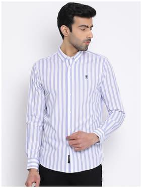 Men Regular Fit Vertical Stripes Casual Shirt Pack Of 1