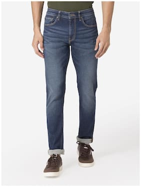 Men Skinny Fit Mid Rise Jeans Pack Of 1