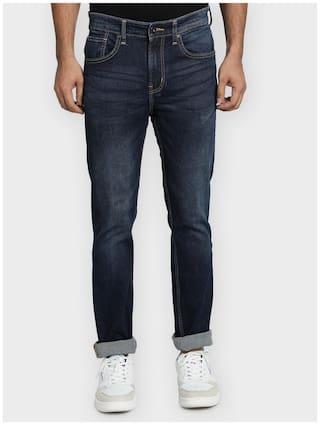 Red Tape Men Blue Skinny Fit Jeans