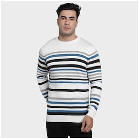 Men Cotton Blend Full Sleeves Sweater Pack Of 1