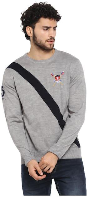 Men Acrylic Full Sleeves Sweater Pack Of 1