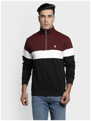 Red Tape Men Multi High neck Sweatshirt