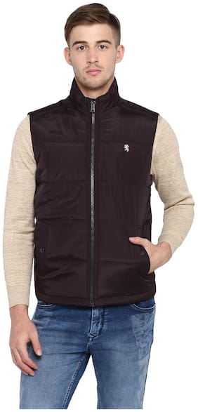 Men Polyester Sleeveless Jacket