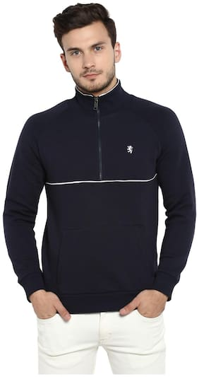 Men Solid Sweatshirt