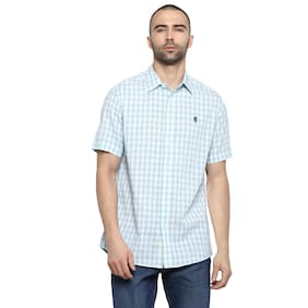 Red Tape Men Regular fit Casual shirt - Turquoise