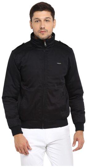 Red Tape Men Cotton Smart Fit Jacket - Black