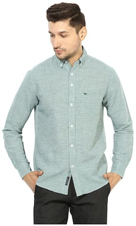Red Tape Men Slim Fit Casual shirt - Blue