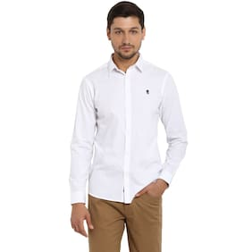 Red Tape Men Regular Fit Casual shirt - White