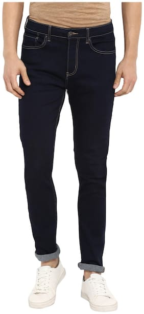 Red Tape Men Mid rise Skinny fit Jeans - Blue