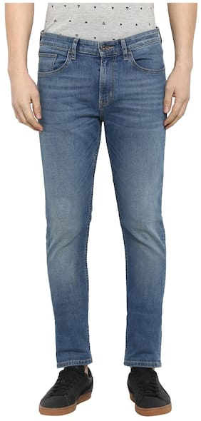 Red Tape Men Mid Rise Skinny Fit ( Skinny Fit ) Jeans - Blue