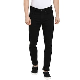 Red Tape Men Black Casual Jeans