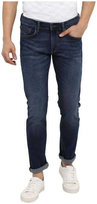 Red Tape Men Blue Slim Fit Jeans