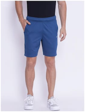Men Solid Sports Shorts Pack Of 1
