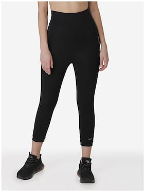 Cotton Blend Solid Leggings Pack of 1