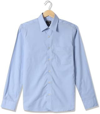 Arrow Men Regular fit Formal Shirt - Blue