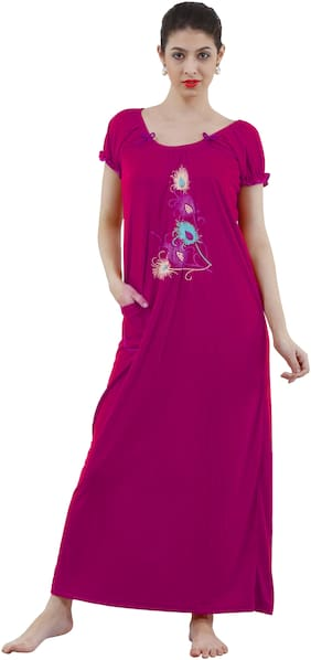 REPOSEY Pink Night Gown