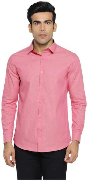 Richard Parker by Pantaloons Men Slim fit Casual shirt - Pink