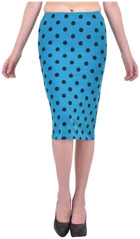 Women Solid Skirt