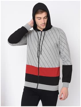 Men Striped Sweatshirt Pack Of 1