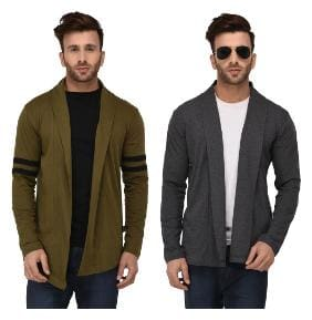 Men Cotton Full Sleeves Sweater Pack Of 2