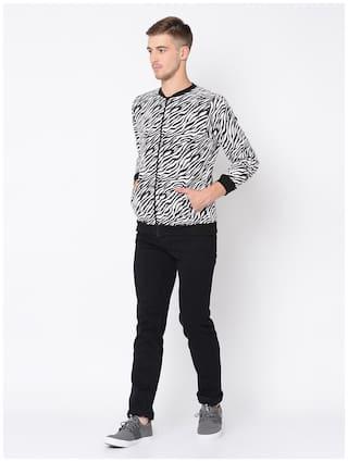 Rigo White Full Sleeve Jacket for Men