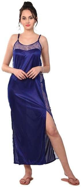 RIKOSA Purple Nighty with Robe