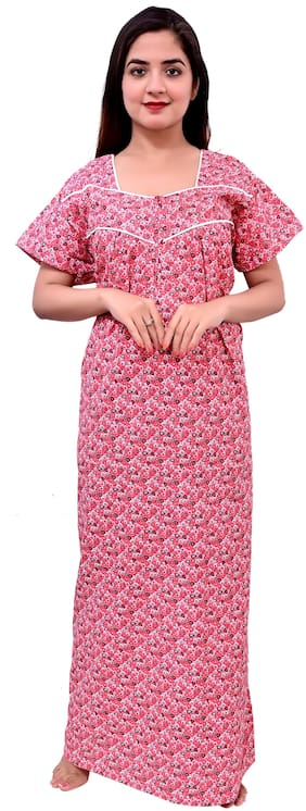 RILO Pink Night Gown