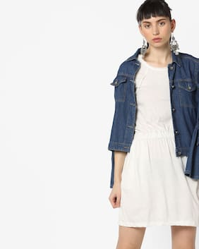 Rio by Reliance trends Women White Dress