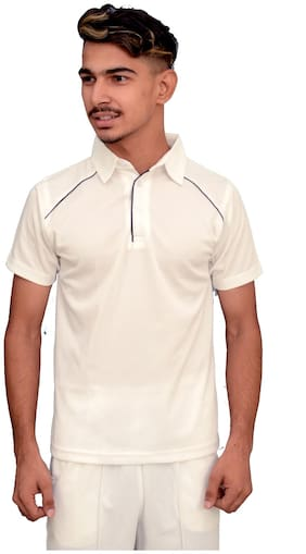Ripr Causal/cricket T-Shirt Polyester White