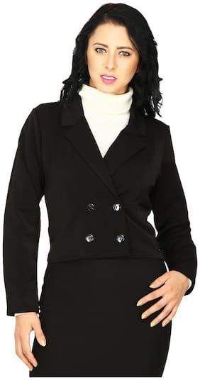 Women Blended Regular FIt Coat