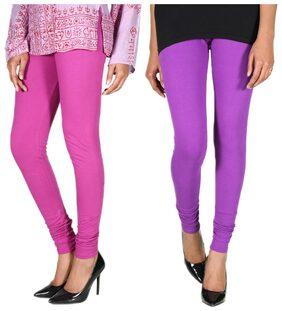 Rivayat Pack Of 2 Multi Color Leggings (Size-XL)