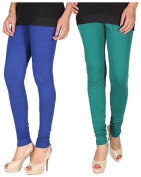 Rivayat Pack Of 2 Multi Color Leggings (Size-L)
