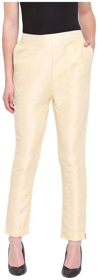 RIVI Women Beige Regular fit Regular trousers