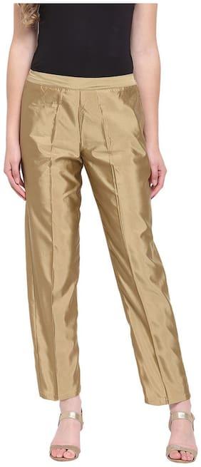 RIVI Women Brown Regular fit Regular trousers