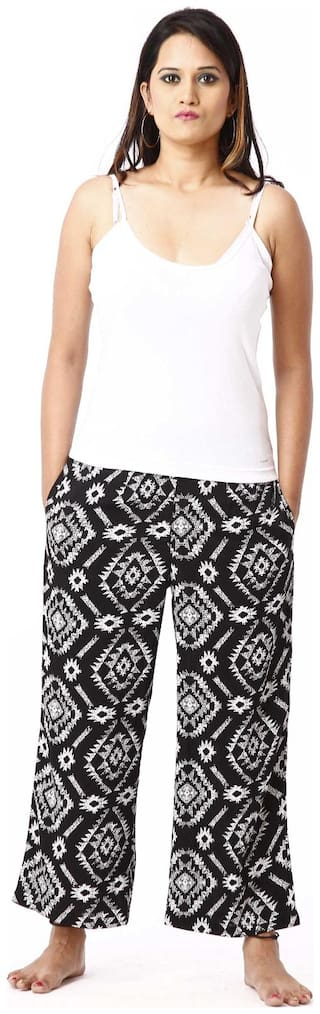 RIVI Women Cotton Printed Top and Pyjama Set - Multi