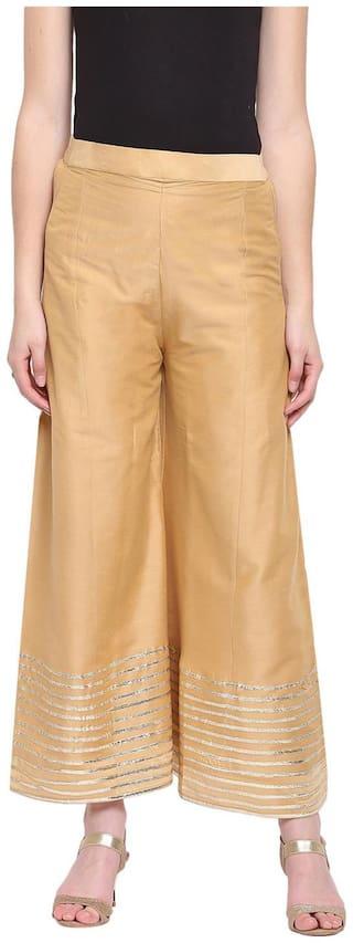 RIVI en Womens Kalidar Silk Palazzo Trouser