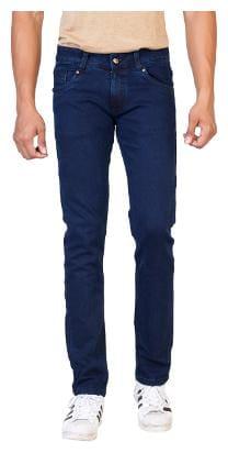 ROAD ROCKERS Men Blue Regular Fit Jeans