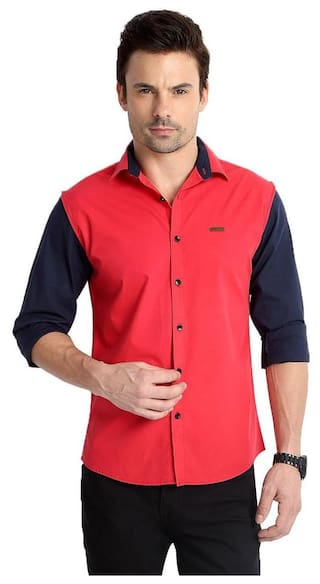 6a728c75 Buy Rodid Men's Solid Casual Shirt Online at Low Prices in India ...
