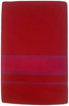 ROLIMOLI Cotton Solid Regular dhoti Dhoti - Maroon
