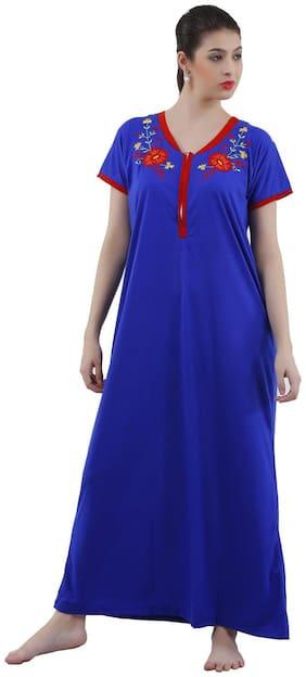 Romaisa Blue Night Gown