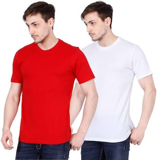 bc6f28e5a Rooliums (Brand Factory Outlet) - Men's Half Sleeve Cotton Round Neck  Premium T-
