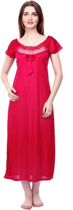 ROWENA Pink Night Gown