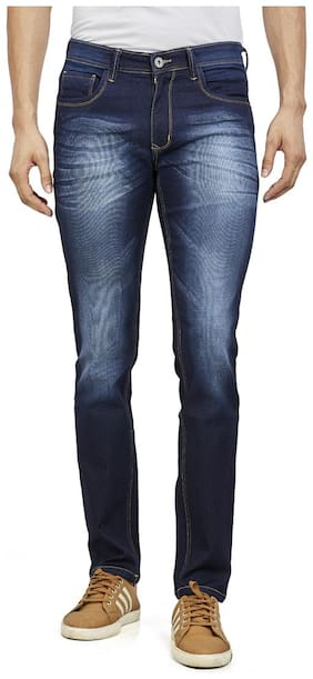 Roxton Men Blue Tapered Fit Jeans