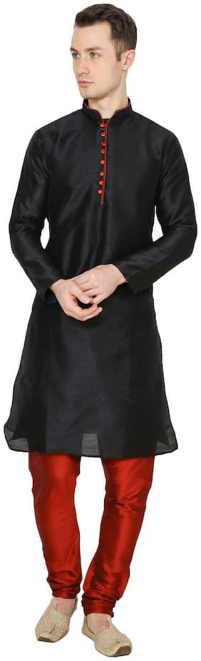 Royal Kurta Men's Cotton Silk Kurta Churidar