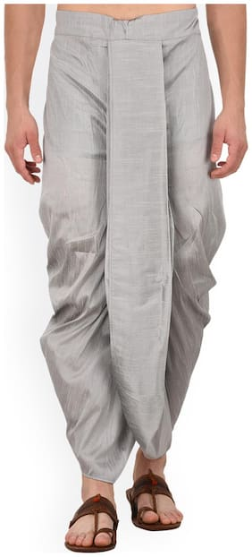 Men Blended Solid Dhoti ,Pack Of 1