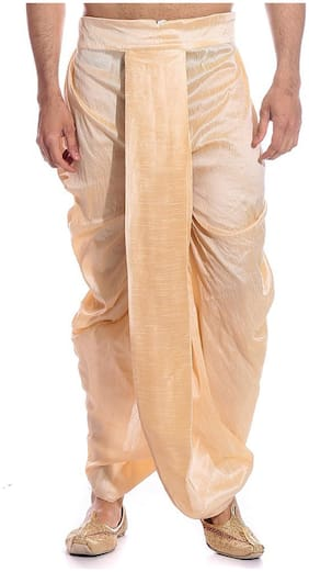 Royal Kurta Golden Jacquard Dhoti