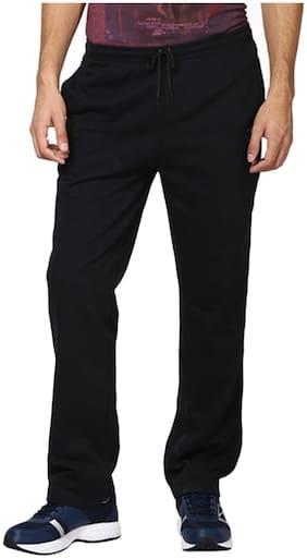 Royal Kurta Black Cotton Blend Track Pant