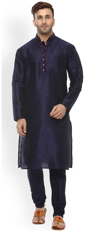 Royal Kurta Men's Cotton Silk Kurta Churidar